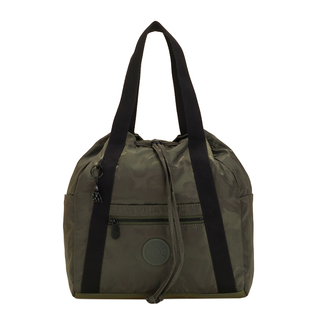 Kipling Art Backpack S satin camo Damestas