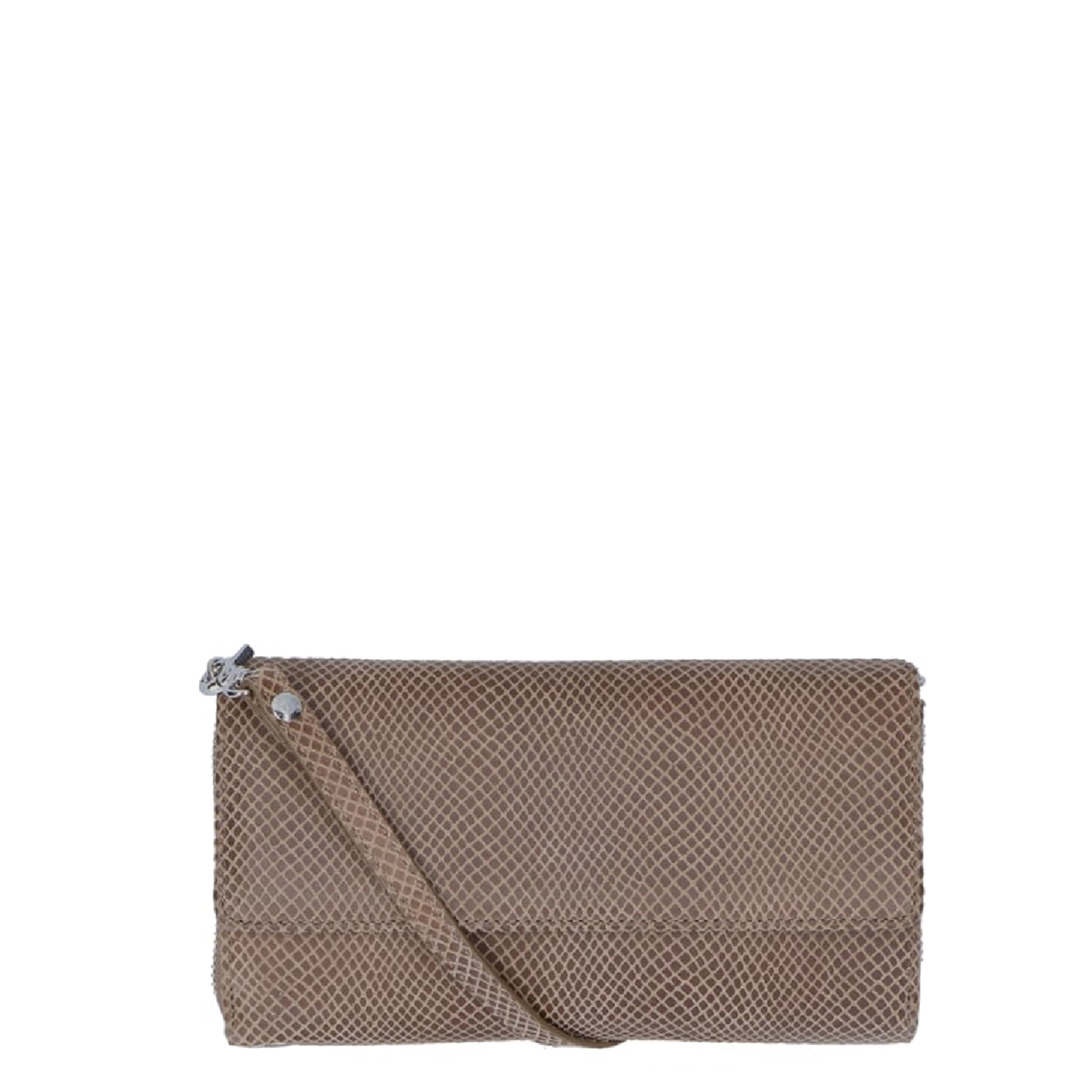LouLou Essentials XL Queen taupe Dames portemonnee