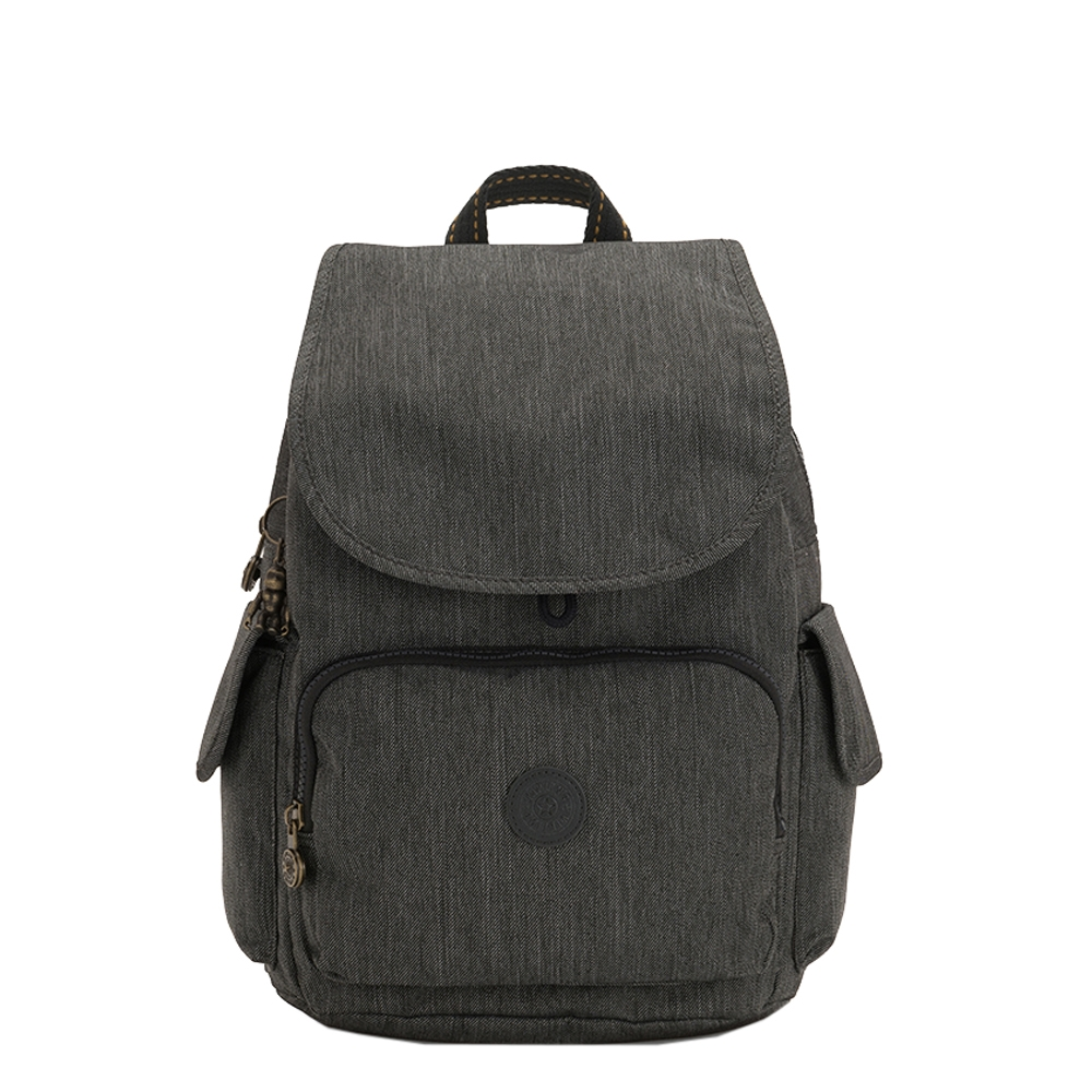 Kipling City Pack Rugzak black indigo Damestas