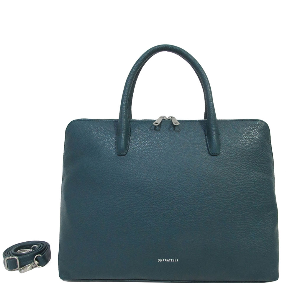 Gigi Fratelli Romance A4 Laptop Bag teal