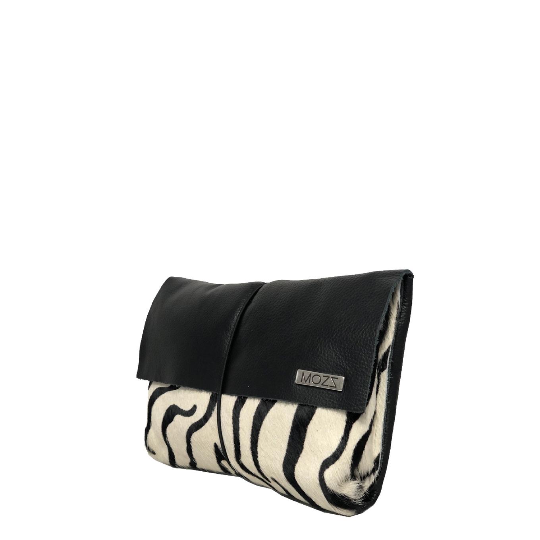 Mozz Luier Etui zebra black Toilettas