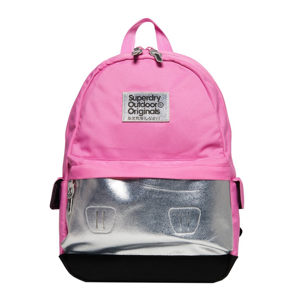 Superdry Montana Colour Change Backpack magenta