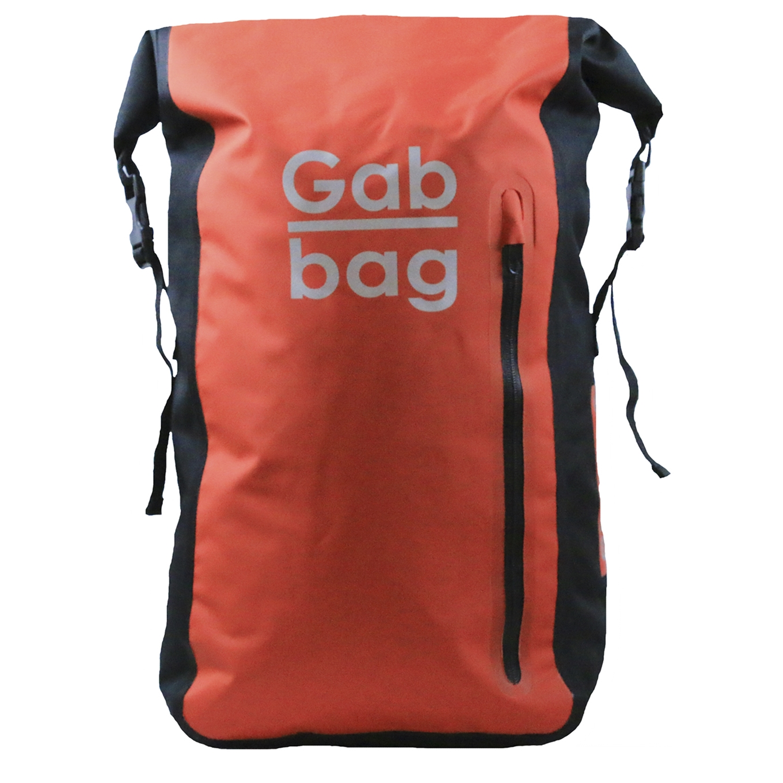 Gabbag Reflective Waterdichte Rugzak 35L rood backpack