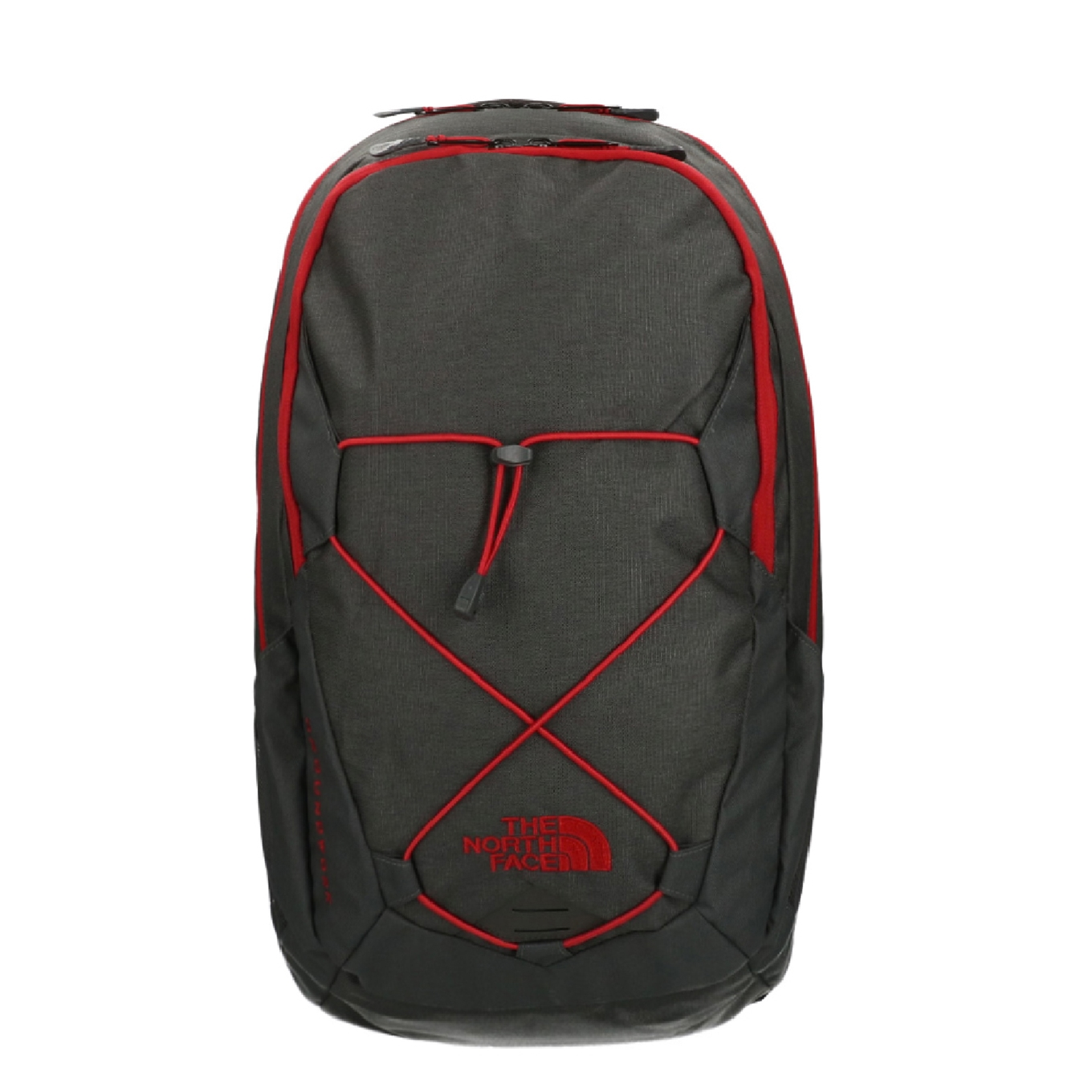 The North Face Groundwork Backpack tnf darkgrey/cardinal red backpack