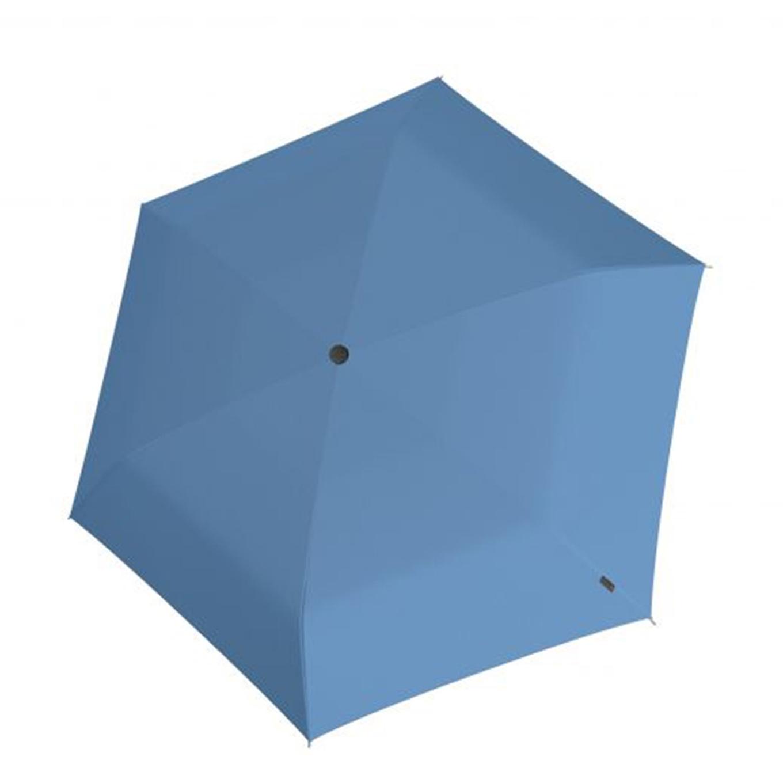 Knirps U.200 Ultra Light Duomatic Paraplu UV Protection blue with black coating (Storm) Paraplu