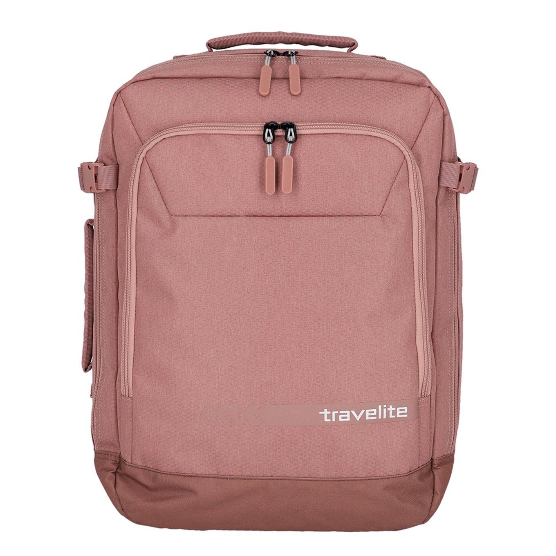 Travelite Kick Off Cabin Size Duffle/Backpack rose Weekendtas