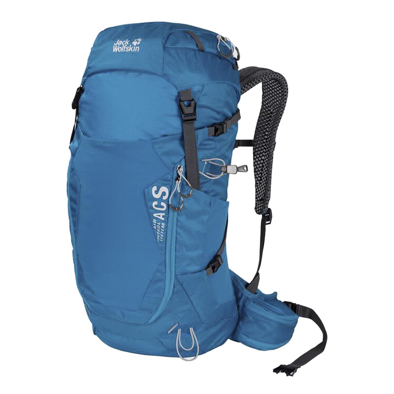 Jack Wolfskin Crosstrail 28 LT Hiking Pack blue jewel backpack