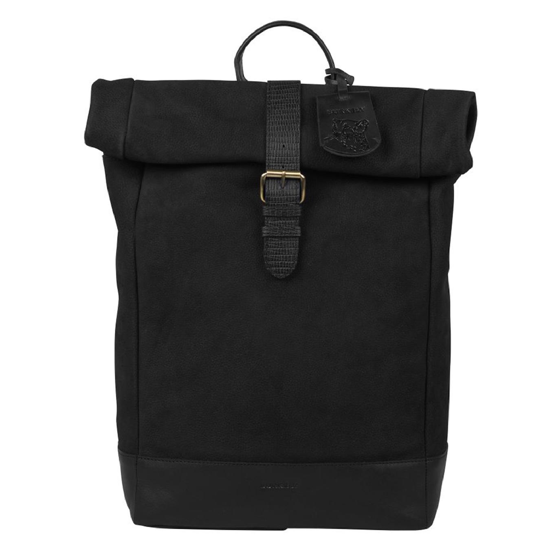 Burkely Soul Sem Backpack Rolltop 15.6'' black backpack