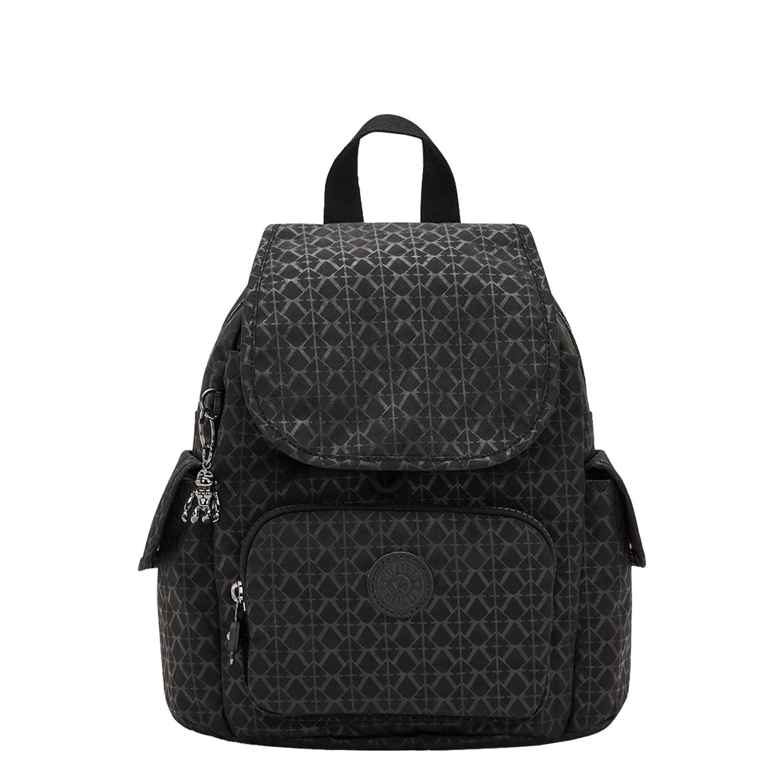 Kipling City Pack Mini Rugzak signature emb backpack