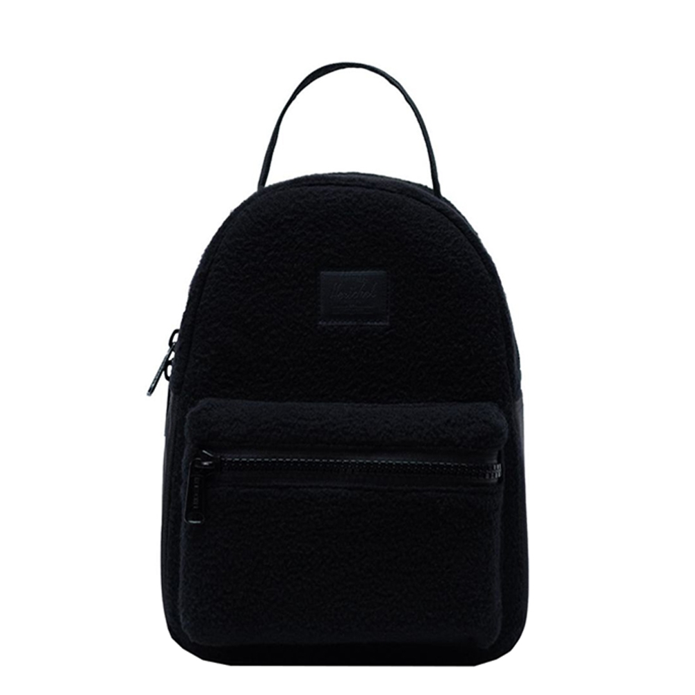 Herschel Supply Co. Nova Mini Rugzak Sherpa Fleece black Rugzak