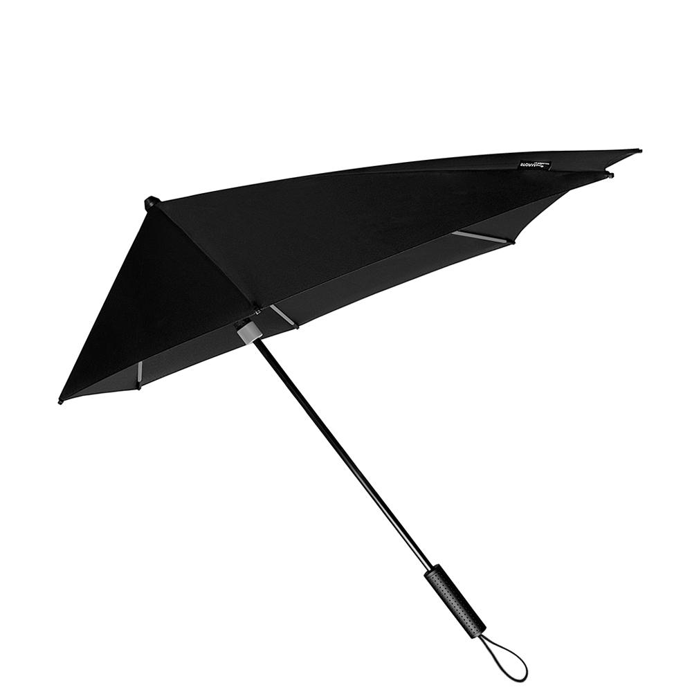 Impliva STORMaxi Aerodynamische Stormparaplu Special Edition zwart - grijs (Storm) Paraplu