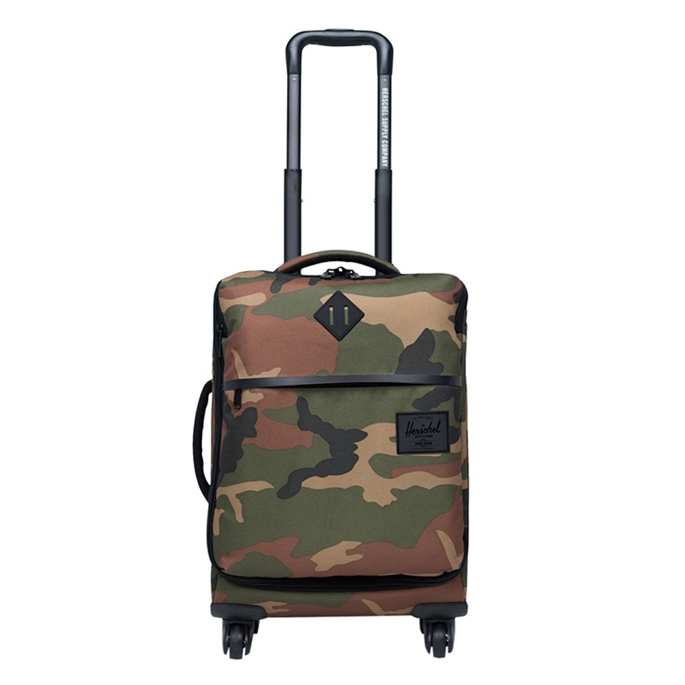 Herschel Supply Co. Highland Carry-On Trolley woodland camo Zachte koffer