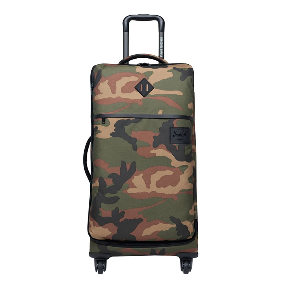 Herschel Supply Co. Highland Medium Trolley suede woodland camo Zachte koffer