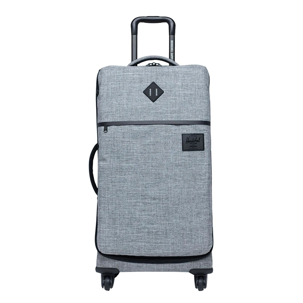 Herschel Supply Co. Highland Medium Trolley raven crosshatch Zachte koffer