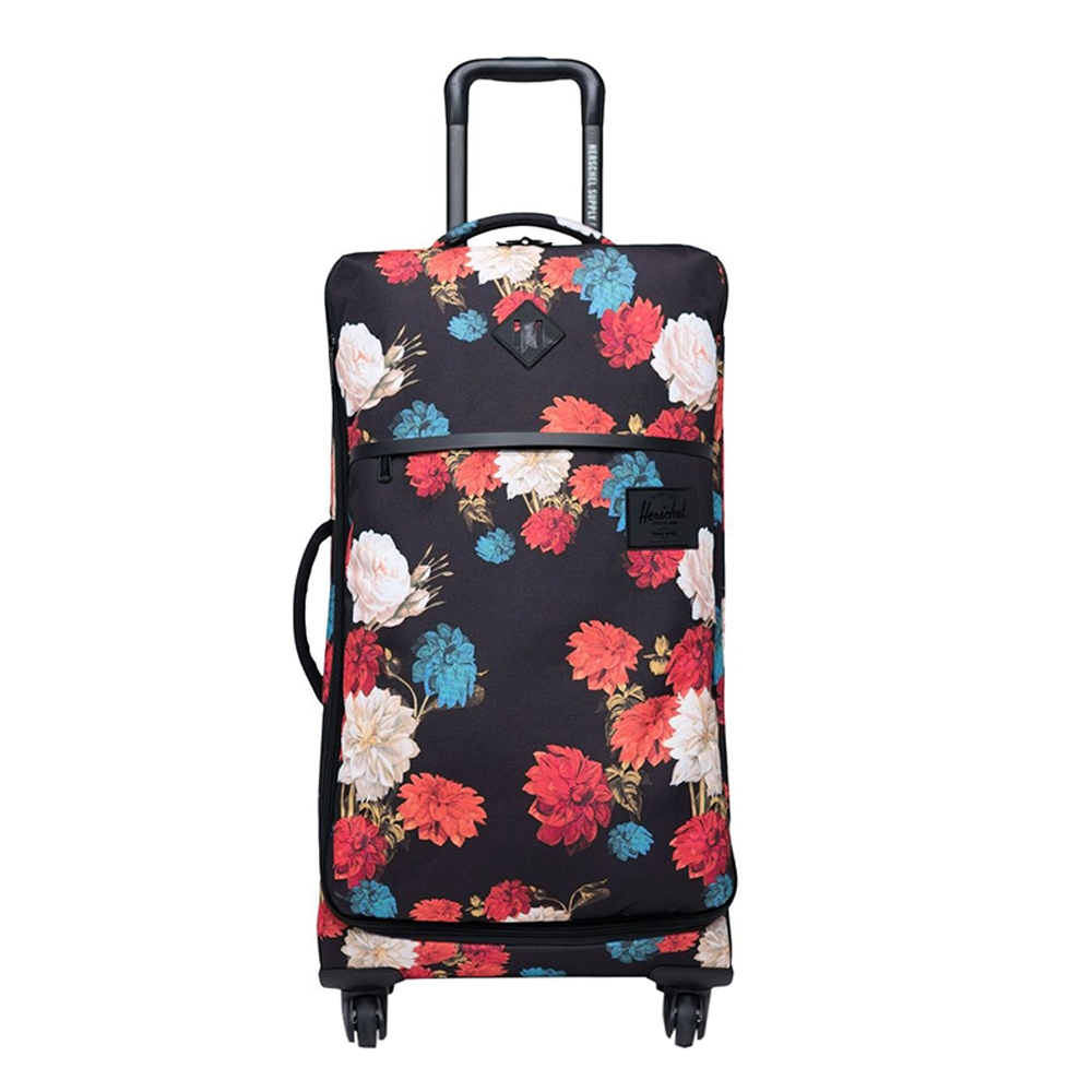 Herschel Supply Co. Highland Medium Trolley Vintage Floral Black Zachte koffer