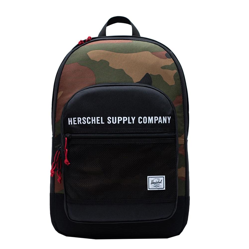 Herschel Supply Co. Kaine Rugzak black-woodland camo