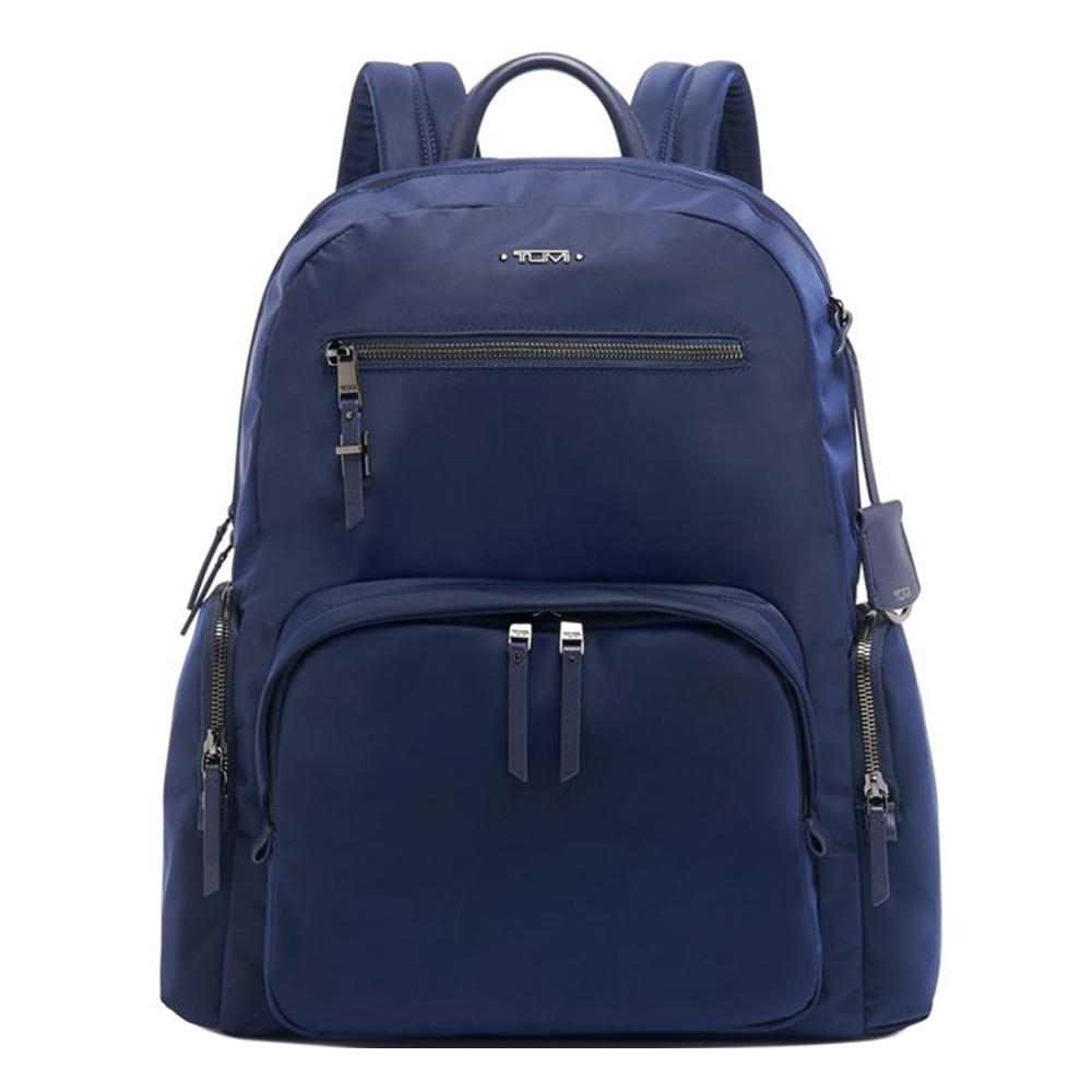 Tumi Voyageur Carson Backpack midnight backpack <br/>€ 375.00 <br/> <a href='https://tc.tradetracker.net/?c=15082&m=779702&a=107398&u=https%3A%2F%2Fwww.travelbags.nl%2Ftumi-voyageur-carson-backpack-midnight.html' target='_blank'>Bestellen</a>