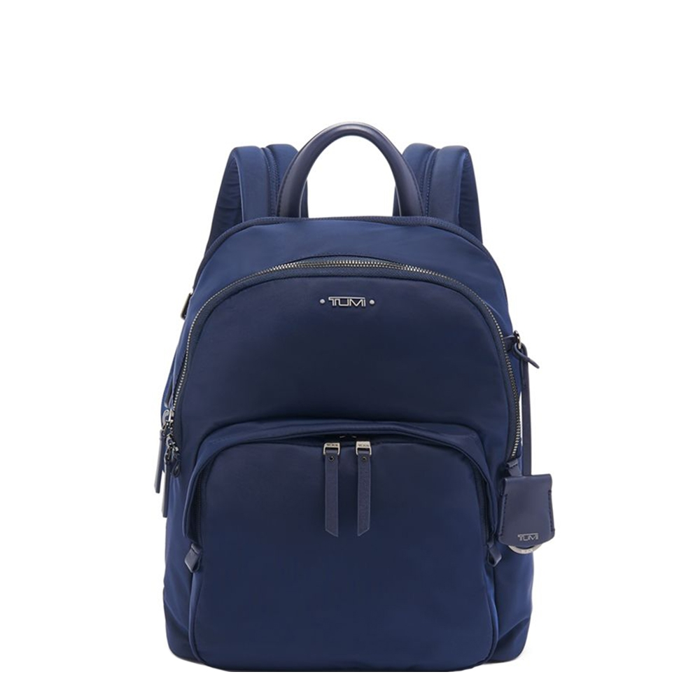 Tumi Voyageur Dori Backpack midnight backpack <br/>€ 295.00 <br/> <a href='https://tc.tradetracker.net/?c=15082&m=779702&a=107398&u=https%3A%2F%2Fwww.travelbags.nl%2Ftumi-voyageur-dori-backpack-midnight.html' target='_blank'>Bestellen</a>