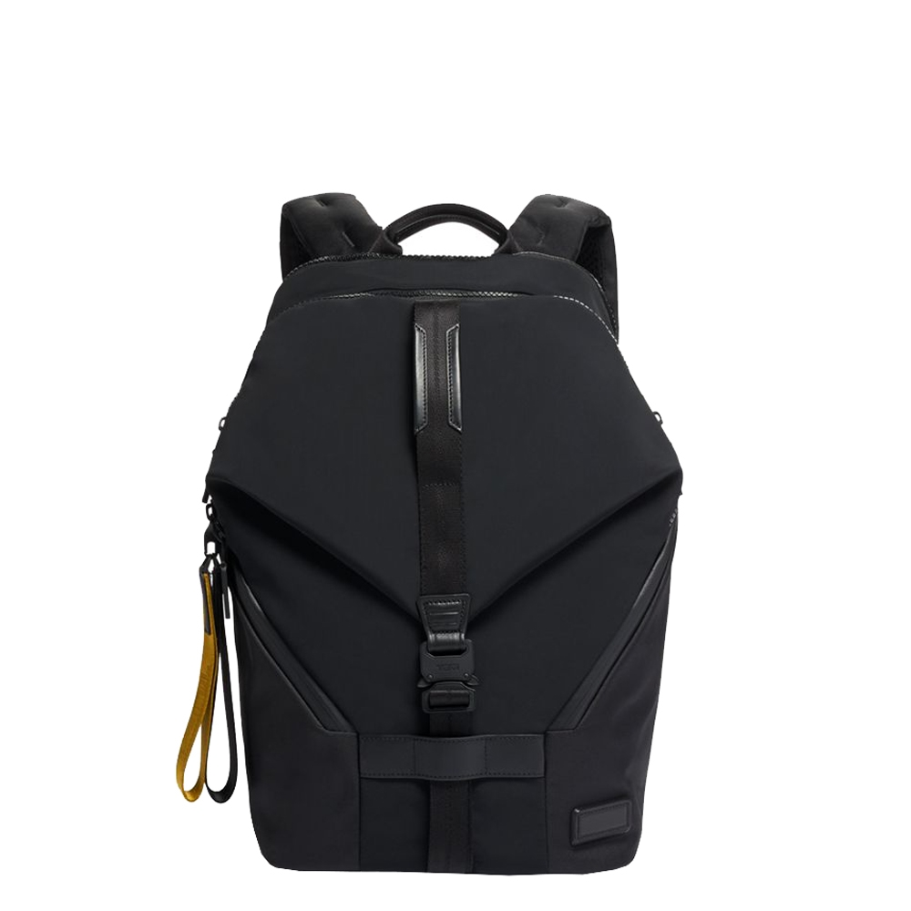 Tumi Tahoe Finch Backpack black backpack <br/>€ 365.00 <br/> <a href='https://tc.tradetracker.net/?c=15082&m=779702&a=107398&u=https%3A%2F%2Fwww.travelbags.nl%2Ftumi-tahoe-finch-backpack-black.html' target='_blank'>Bestellen</a>