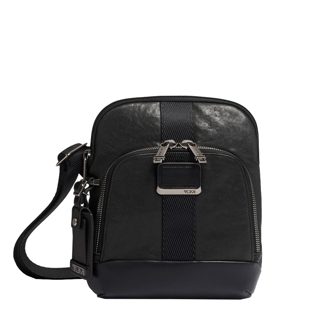 Tumi Alpha Bravo Leather Barksdale Crossbody black Herentas <br/></noscript><img class=