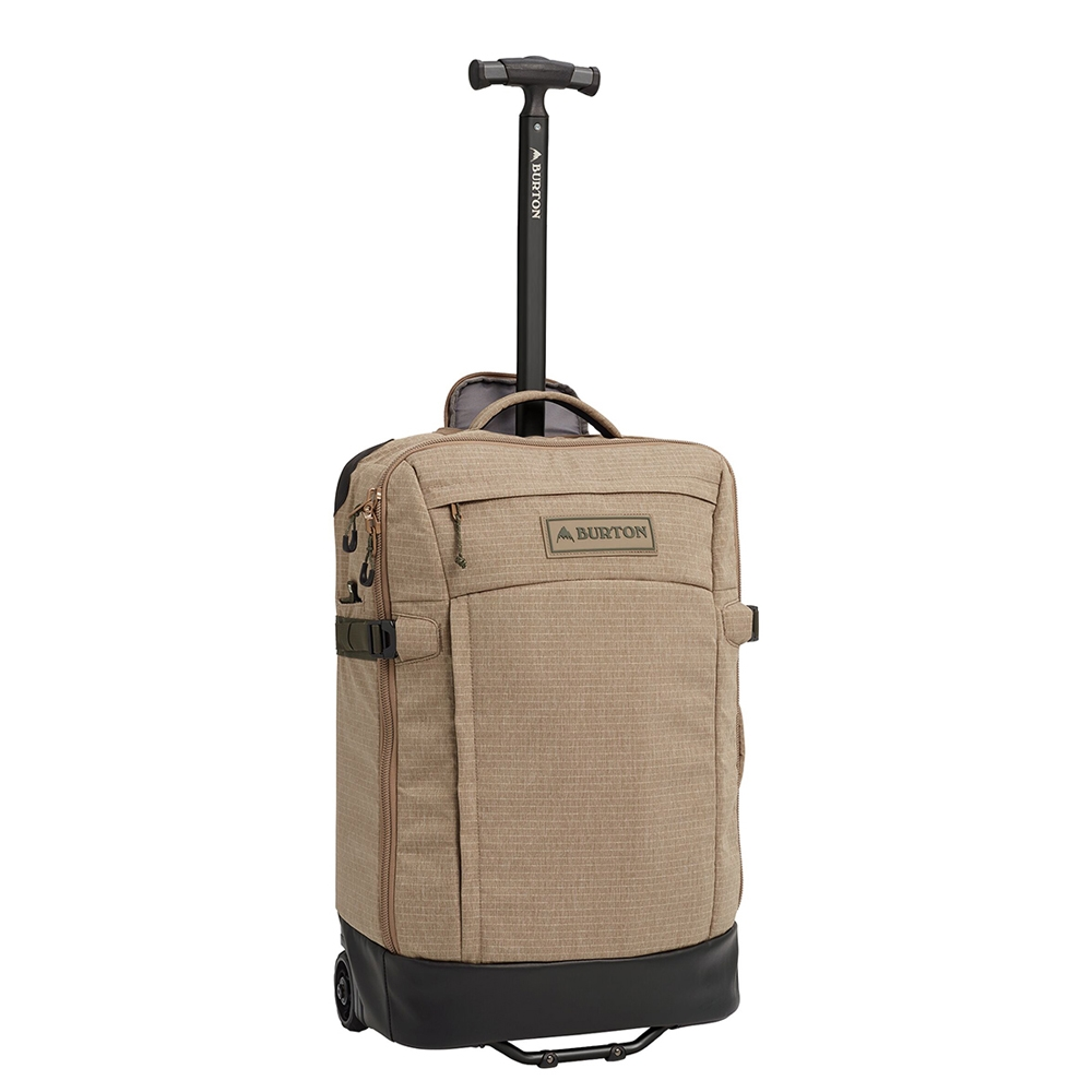 Burton Multipath Carry-On Reistas timber wolf ripstop Handbagage koffer Trolley