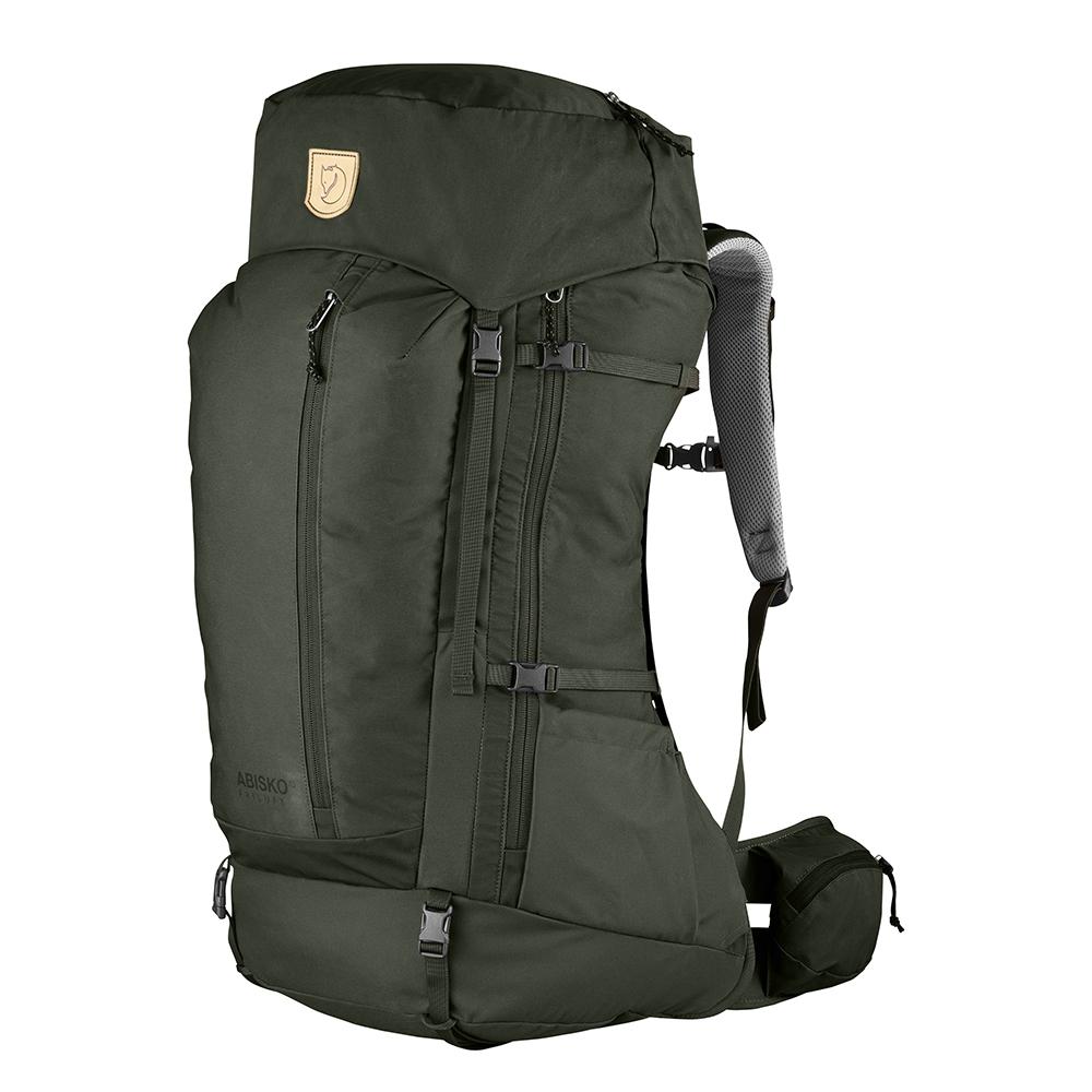 Fjallraven Abisko Friluft 45 deep forest backpack <br/>€ 199.00 <br/> <a href='https://tc.tradetracker.net/?c=15082&m=779702&a=107398&u=http%3A%2F%2Fwww.travelbags.nl%3A80%2Ffjallraven-abisko-friluft-45-deep-forest.html' target='_blank'>Bestellen</a>