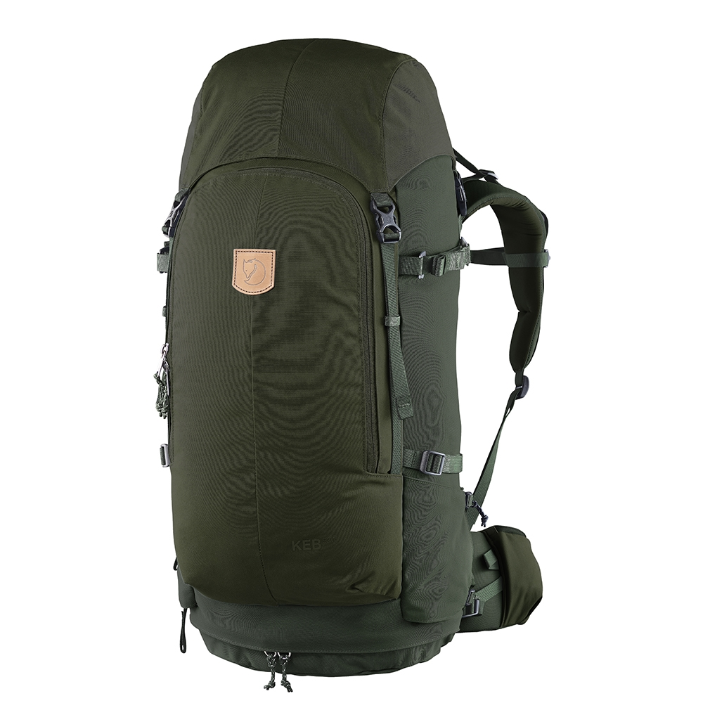 Fjallraven Keb 72 olive-deep forest backpack