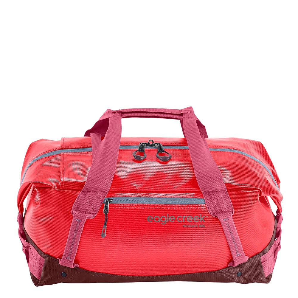 Eagle Creek Migrate Duffel 40L coral sunset Weekendtas <br/>€ 65.00 <br/> <a href='https://tc.tradetracker.net/?c=15082&m=779702&a=107398&u=http%3A%2F%2Fwww.travelbags.nl%3A80%2Feagle-creek-migrate-duffel-40l-coral-sunset.html' target='_blank'>Bestellen</a>