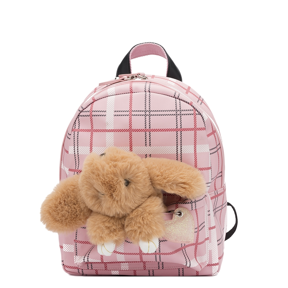 Zebra Trends Girls Rugzak S Honey Bunny ruit pink Kindertas
