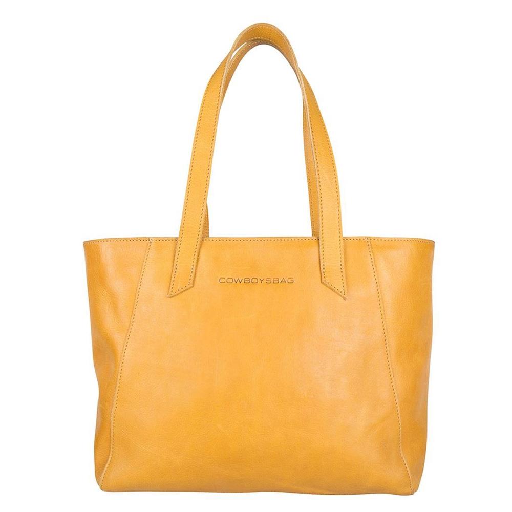 Cowboysbag Slanted Jenner Bag amber - 1