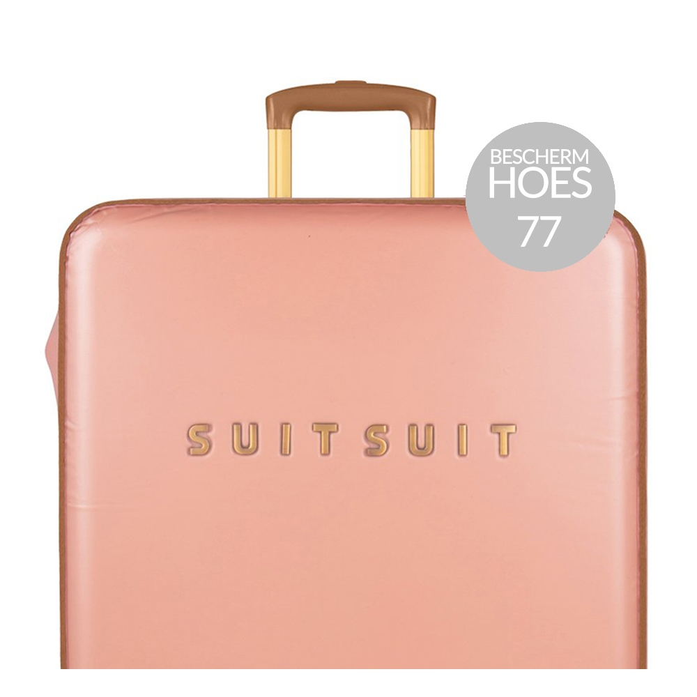 SuitSuit Fab Seventies Beschermhoes 77 coral cloud Kofferhoes