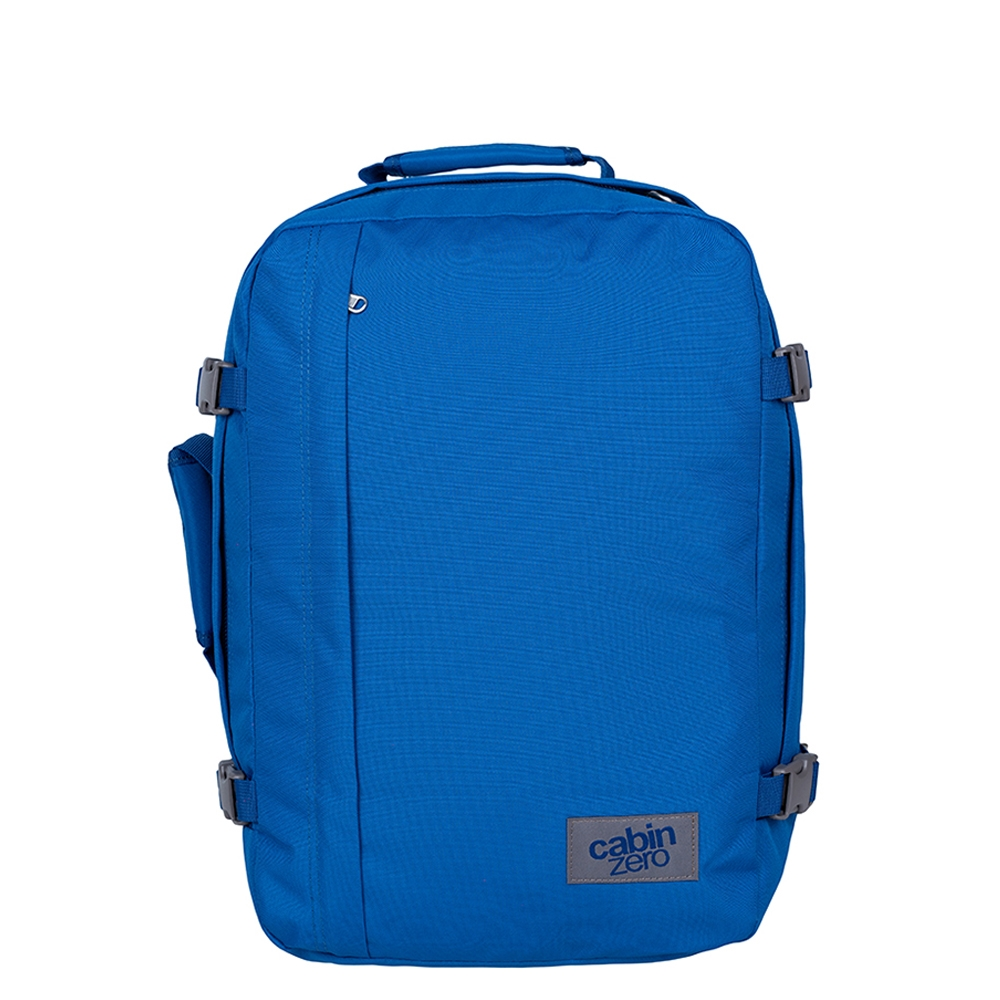 CabinZero Classic 36L Ultra Light Cabin Bag jodhpur blue Weekendtas <br/>€ 59.90 <br/> <a href='https://tc.tradetracker.net/?c=15082&m=779702&a=107398&u=http%3A%2F%2Fwww.travelbags.nl%3A80%2Fcabinzero-classic-36l-ultra-light-cabin-bag-jodhpur-blue.html' target='_blank'>Bestellen</a>
