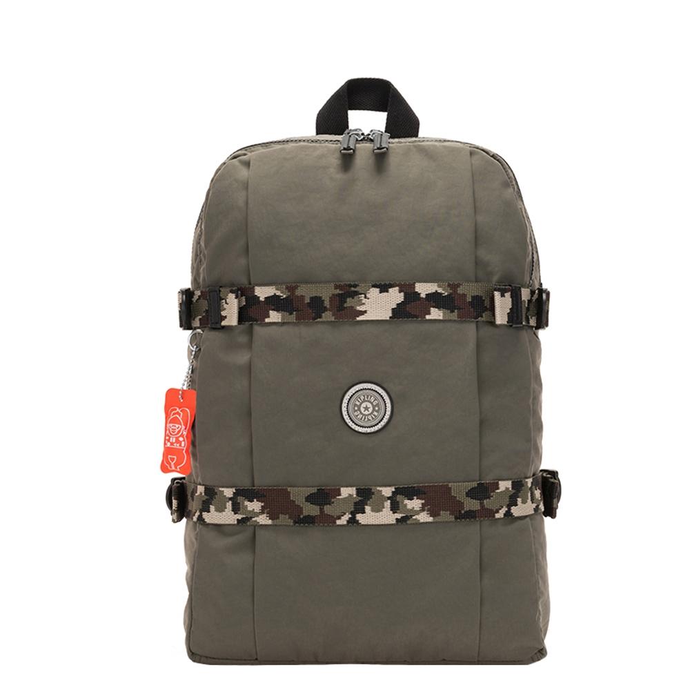 Kipling Tamiko Laptop Rugzak cool moss c backpack