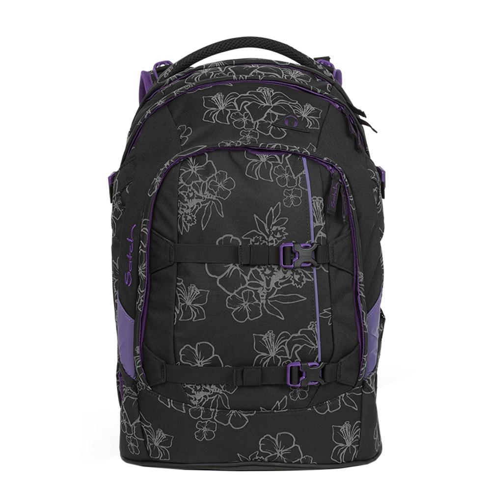 Satch Pack School Rugzak ninja hibiscus