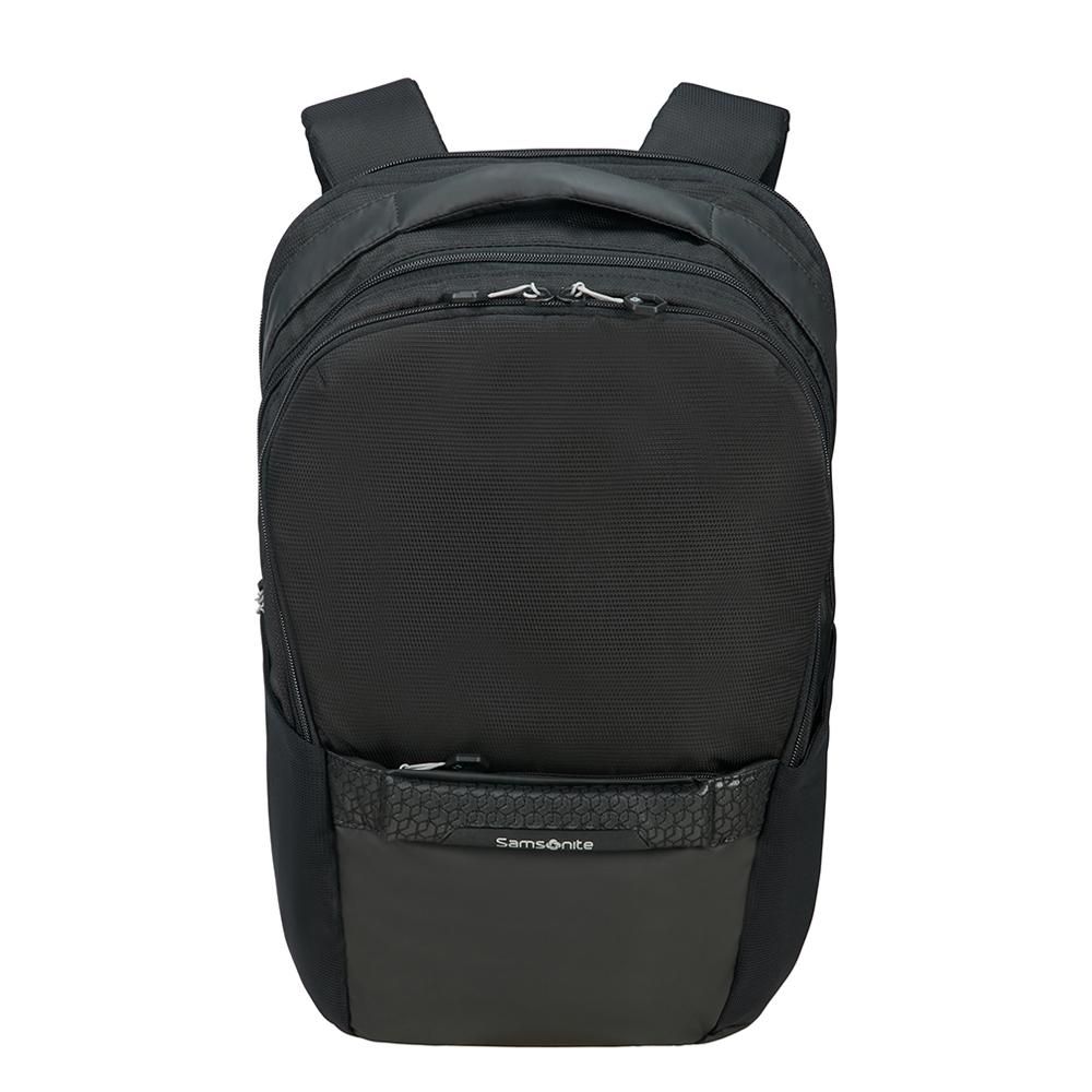 Samsonite Hexa-Packs Laptop Backpack M Expandable Work black backpack