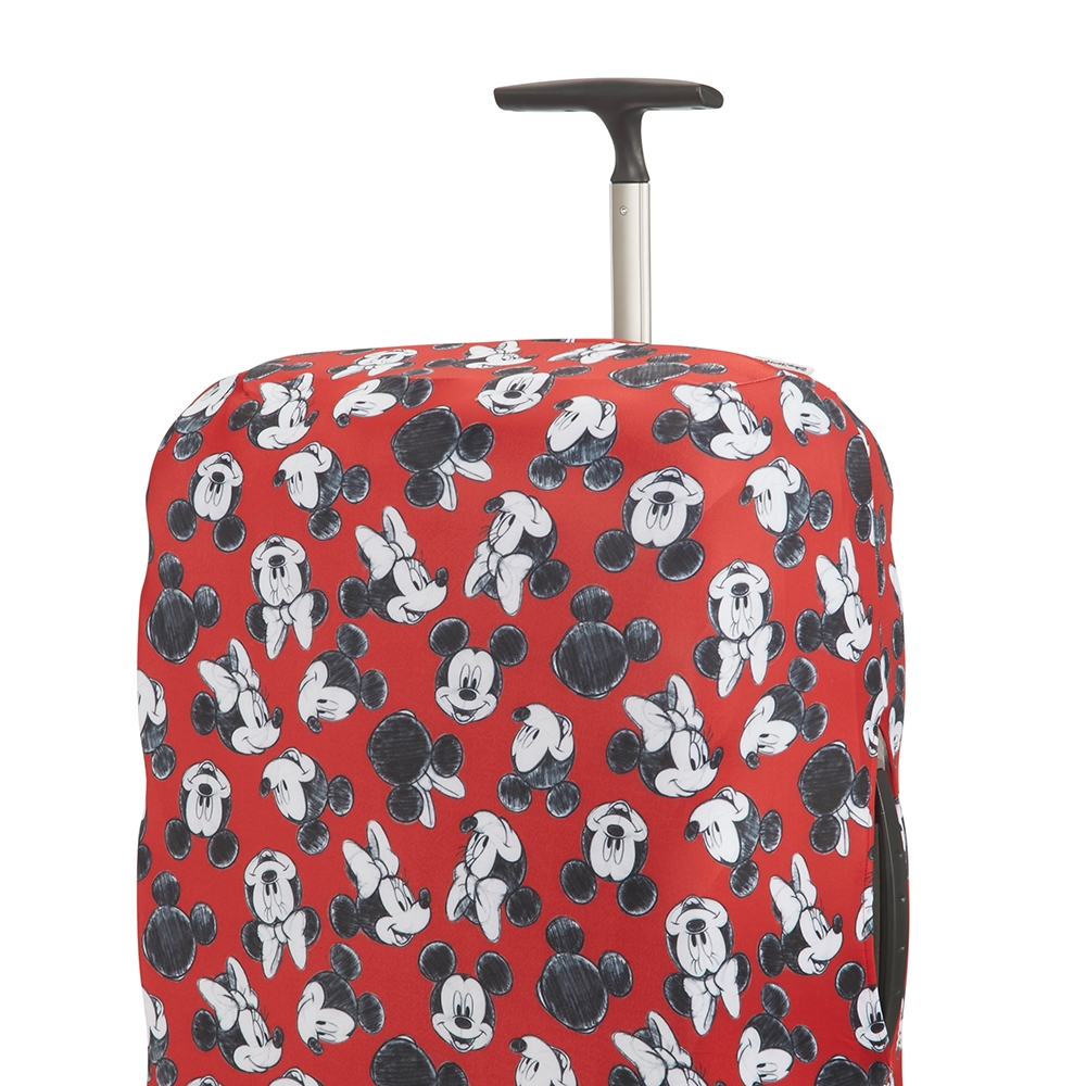 Samsonite Accessoires Disney Lycra Cover M mickey/minnie red Kofferhoes