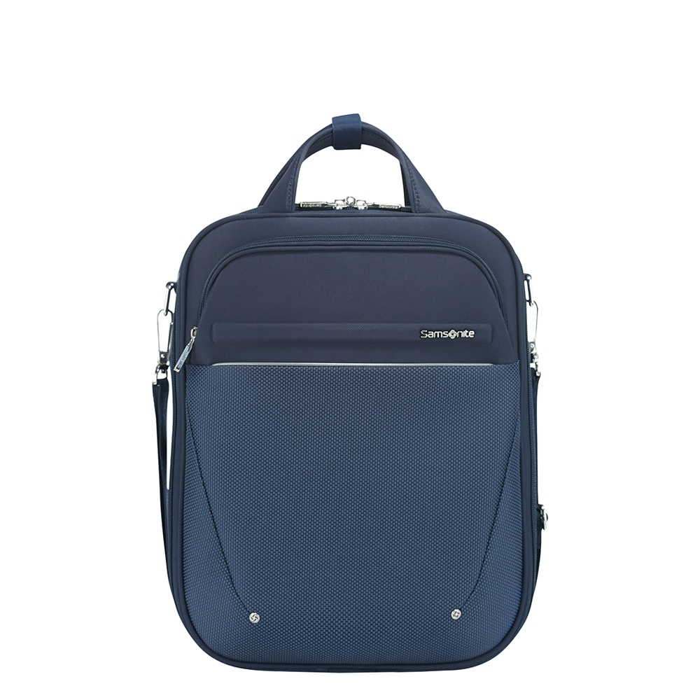 Samsonite B-Lite Icon 3-Way Laptop Backpack Expandable dark blue backpack