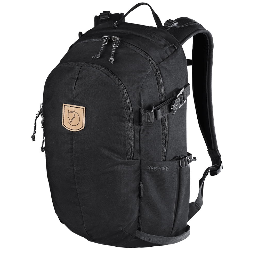 Fjallraven Keb Hike 20 black/black backpack