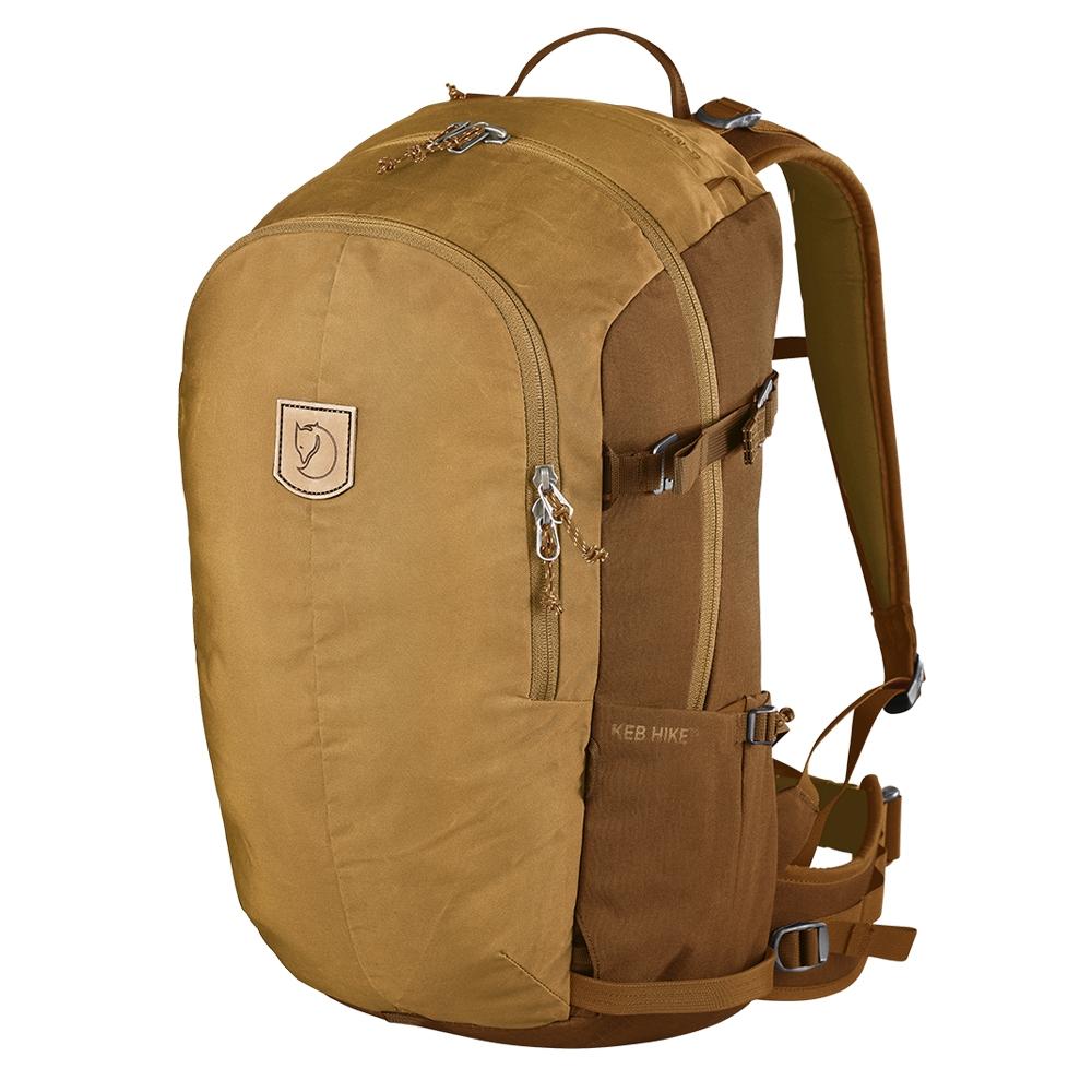 Fjallraven Keb Hike 30 acorn-chestnut backpack <br/>€ 239.00 <br/> <a href='https://tc.tradetracker.net/?c=15082&m=779702&a=107398&u=http%3A%2F%2Fwww.travelbags.nl%3A80%2Ffjallraven-keb-hike-30-acorn-chestnut.html' target='_blank'>Bestellen</a>