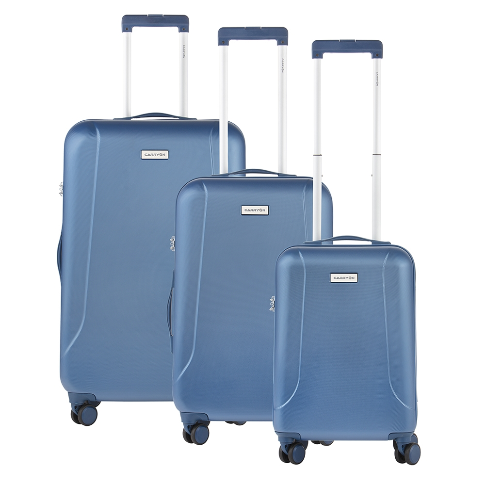 CarryOn Skyhopper Trolleyset 3pcs TSA cool blue - 1