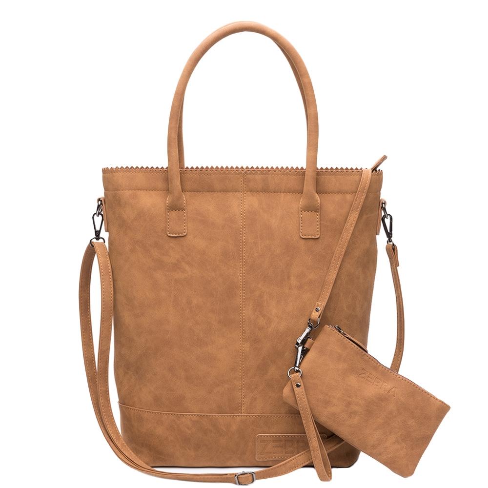 Zebra Trends Natural Bag Kartel Fearless II camel - 1