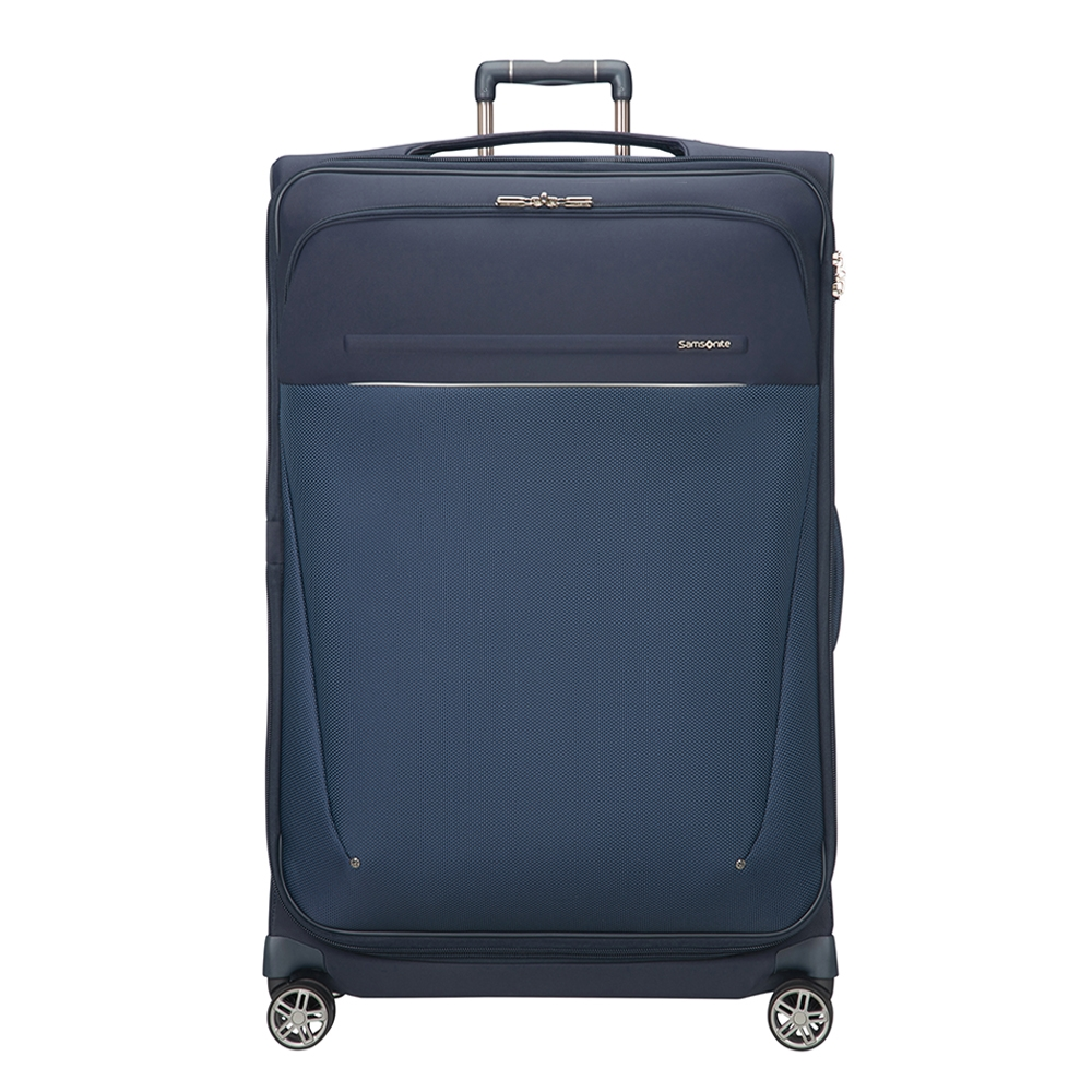 Samsonite B-Lite Icon Spinner 83 Expandable dark blue Zachte koffer <br/></noscript><img class=