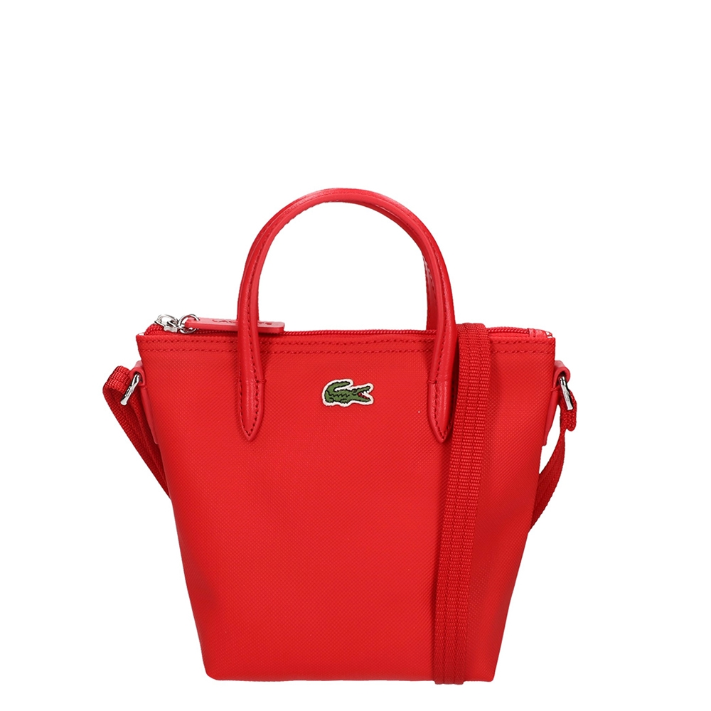 Lacoste Ladies XS Shopping Cross Bag high risk red