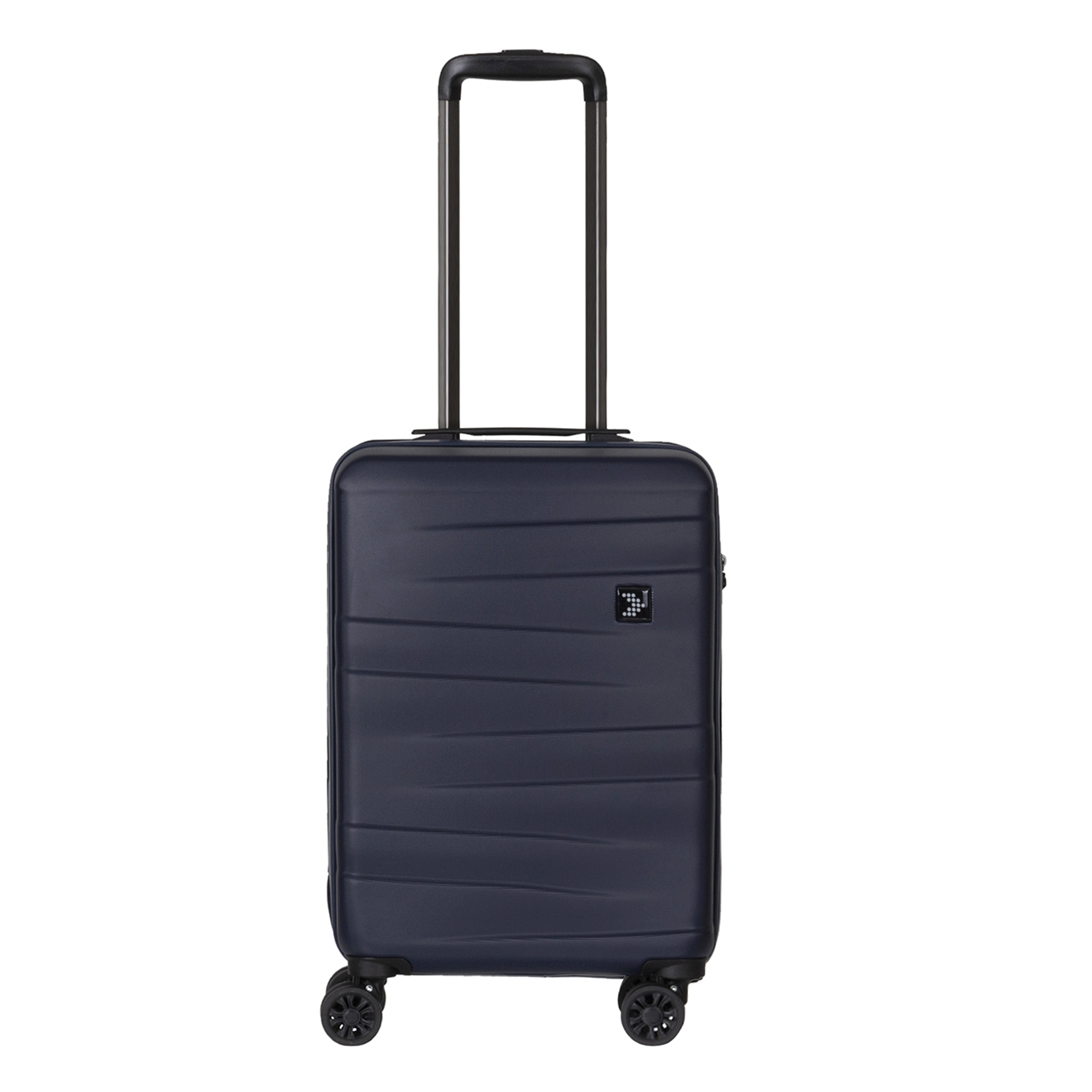 Travelbags Stockholm 4 Wheel Trolley 55 navy Harde Koffer