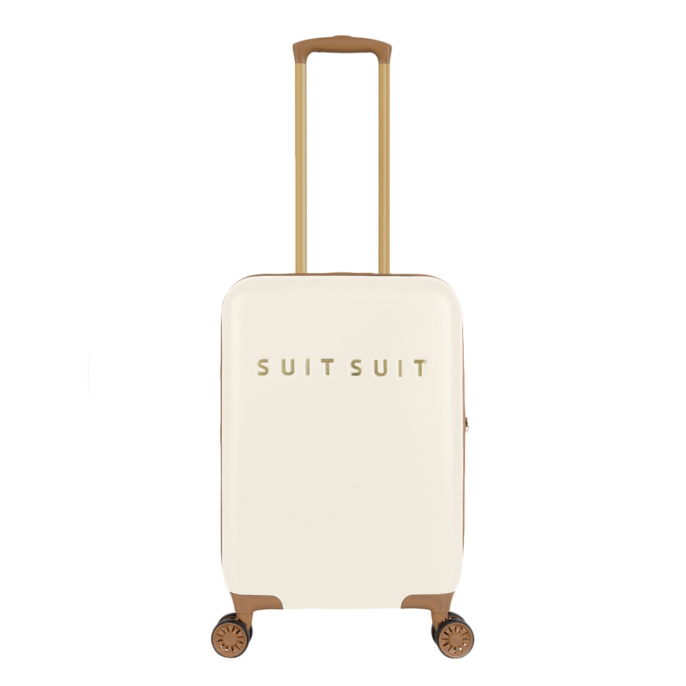 SuitSuit Fab Seventies Handbagage Trolley 55 antique white Harde Koffer <br/></noscript><img class=