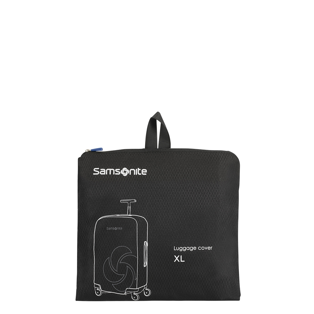 Samsonite Accessoires Foldable Luggage Cover XL black Kofferhoes