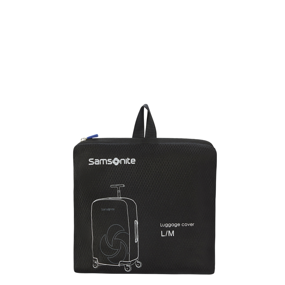 Samsonite Accessoires Foldable Luggage Cover L/M black Kofferhoes