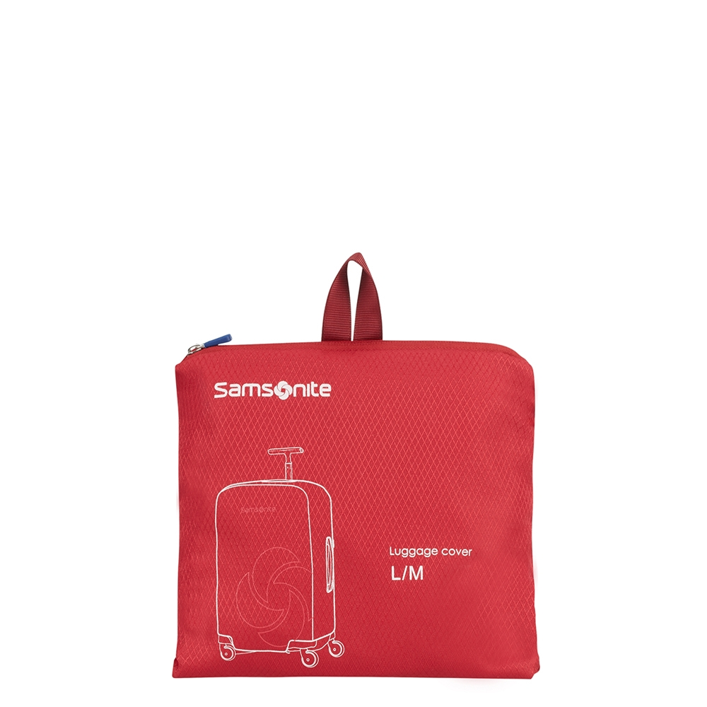 Samsonite Accessoires Foldable Luggage Cover L/M red Kofferhoes