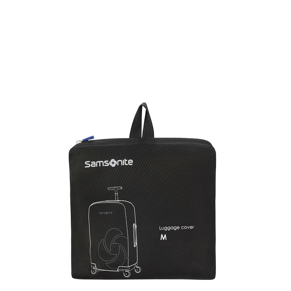 Samsonite Accessoires Foldable Luggage Cover M black Kofferhoes