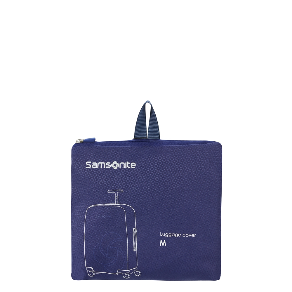 Samsonite Accessoires Foldable Luggage Cover M midnight blue Kofferhoes